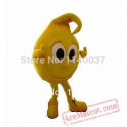 Yellow Lemon Limon Mascot Costume