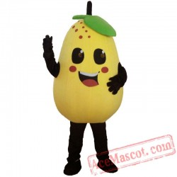 Fruits And Vegetables Pears Mascot Costume