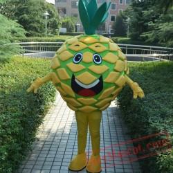 Pineapple Mascot Costume Fruit Cartoon Character