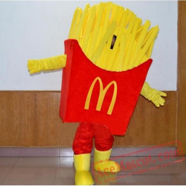 Bubble Cotton Mcdonalds Food Mascot Costumes