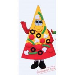 Pizza Mascot Costume Hamburger Mascot Costume