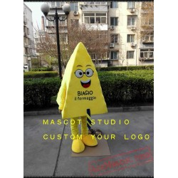 Cheese Mascot Costume Food Cartoon Character