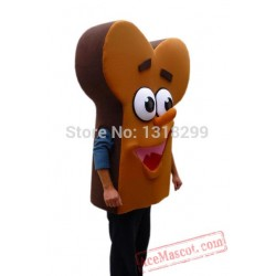 Bone Shape Bread Food Mascot Costume