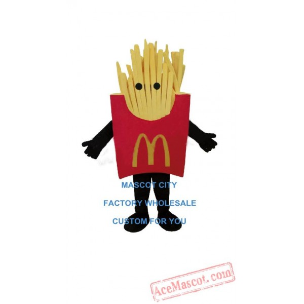 French Fries Mascot Costume