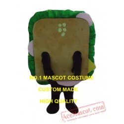 Sandwich Mascot Costume Fast Food Cartoon Character