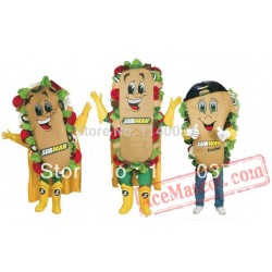 Sandwich Food Mascot Costume