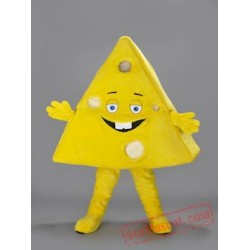 Triangle Shaped Cheese Mascot Costume For Adult