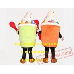 Polular Ice Cream Mascot Costume Adult