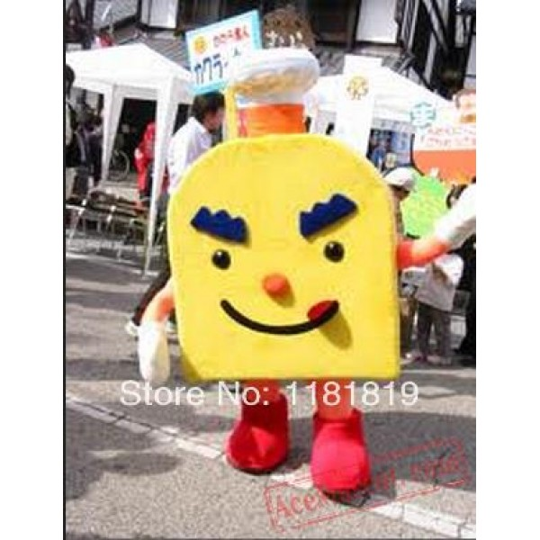 Bread Mascot Costume