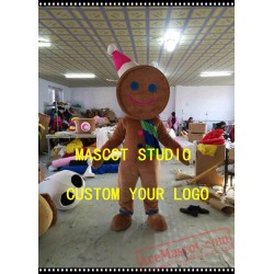 Gingerbread Mascot Costume Ginger Bread