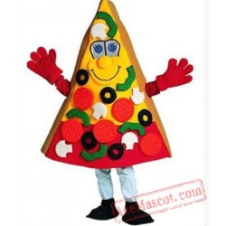 Professional Pizza Mascot Costume