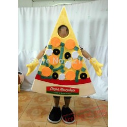 Cartoon Character Adult Cute Pizza Mascot Costume