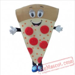 Cartoon Character Adult Pizza Mascot Costume