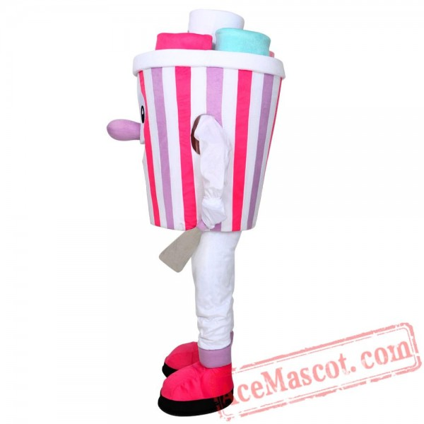 Colorful Ice Cream Mascot Costume