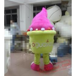 High Quality Ice Cream Mascot Costume