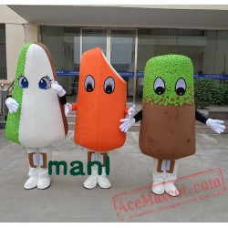 Ice Cream Bar Ice-Lolly Ice Candy Mascot Costume