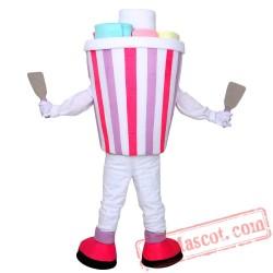Ice Cream Mascot Costum