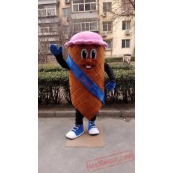 Ice Cream Mascot Costume