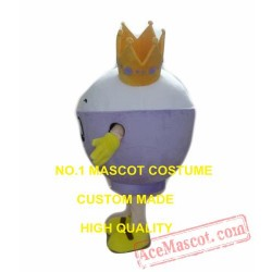 Queen Icecream Mascot Costume
