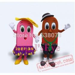 Seaside Ice Cream Mascot Costume
