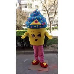 Ice Cream Cupcake Mascot Costume
