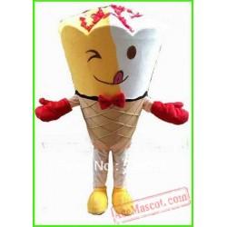 Icecream Mascot Costume Adult