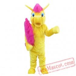 Yellow My Little Pony Horse Mascot Costume