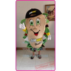 Sandwich Subman Mascot Costume