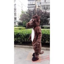 Horse Mascot Mustang Costume Stallion