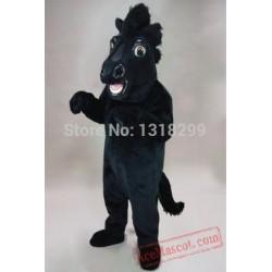 Stallion Mustang Horse Mascot Costume
