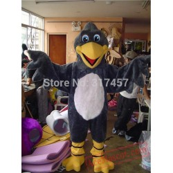 Adult Black Bird Cosplay Mascot Costume