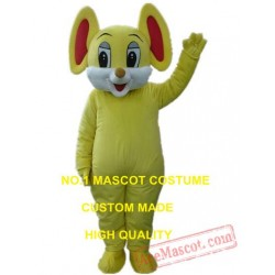 Yellow Mouse Mascot Costume Cartoon Character Cosplay