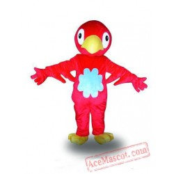 Big Handsome Red Bird Animal Mascot Costume