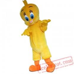 Tweety Bird Looney Tunes Mascot Costume Cartoon