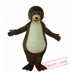 Sea Lions Mascot Costume Cartoon Character Sea Animal