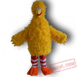 Troopial Cartoon Bird Mascot Costume