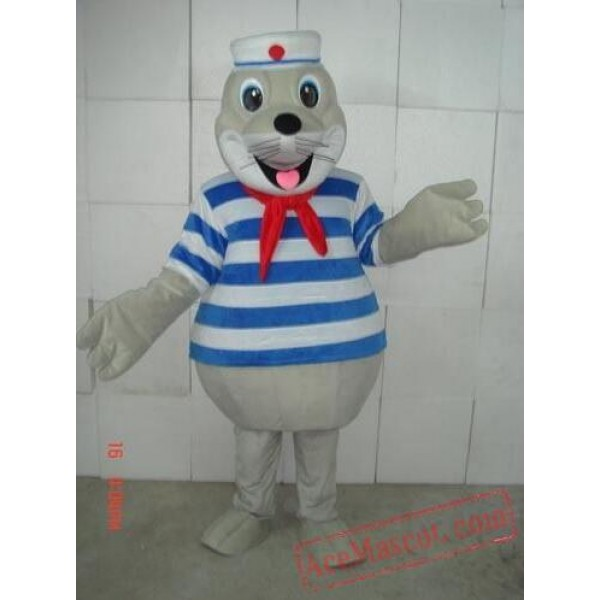 Adult Sea Lion Hippo Party Mascot Costume