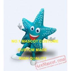 Professional Blue Sea Star Starfish Mascot Costume