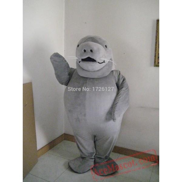 Manatee Sea Cow Mascot Costume
