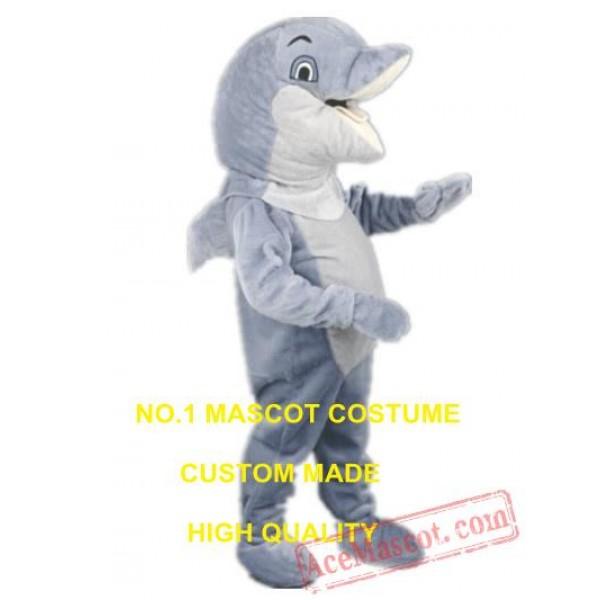 Dolphine Mascot Costume Adult