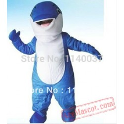 Blue Whale Adult Mascot Costume