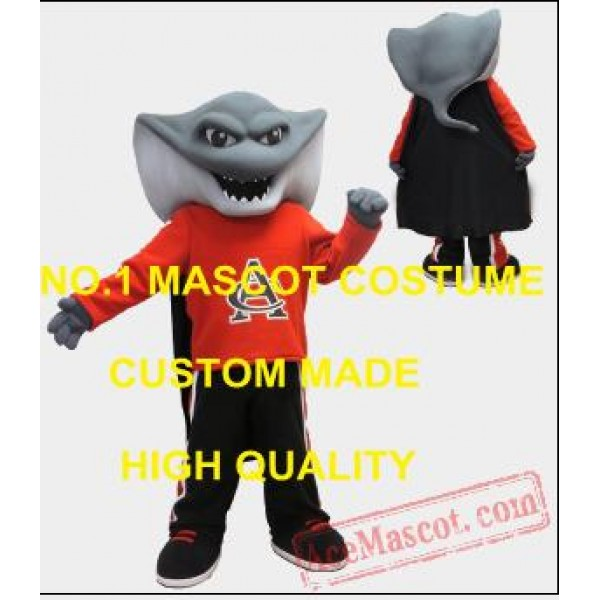 Advertising Atlantic Stingray Mascot Costume