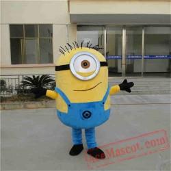 Yellow Minion Mascot Costume