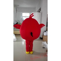 Angry Red Bird Mascot Costume
