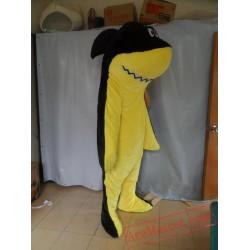 Yellow Shark Costume Wafer Shark Mascot Costume