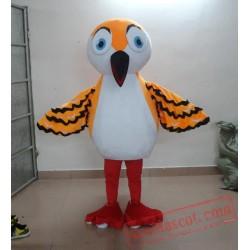 Adult Orange Bird Mascot Costume