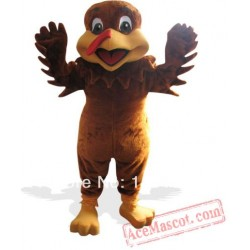 Thanksgiving Turkey Mascot Costume