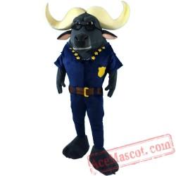 Zootopia/Zootropolis Cattle Bureau Mascot Costume