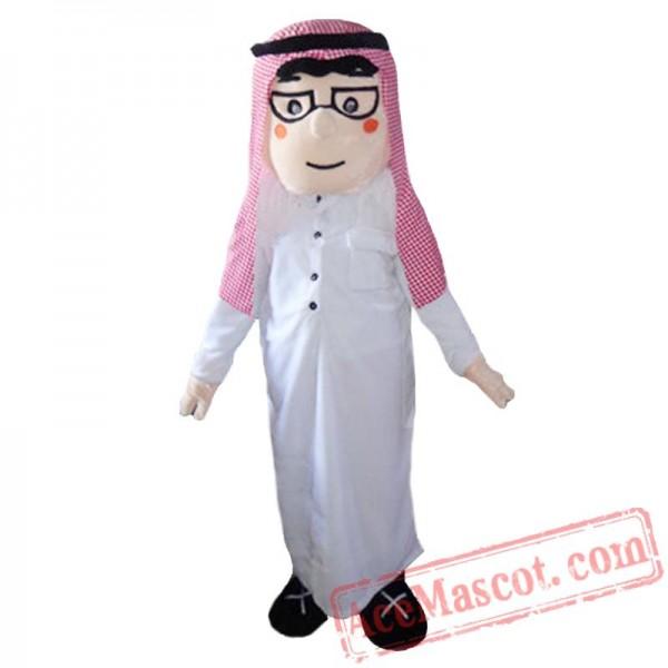 Arab Boy Mascot Costume For Adult Arabian Girl Costume