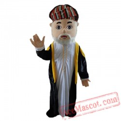 Arab Boy Mascot Costume For Adult Arabian Girl Costume